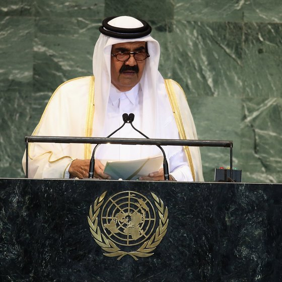 Qatar is ruled by Sheikh Hamad bin Khalifa Al Thani.