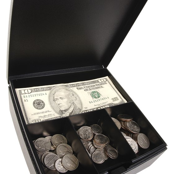 Cash on hand includes your physical cash and bank account balances.
