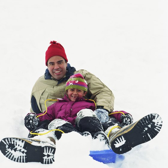 Northern California is home to a wide variety of sledding hills.