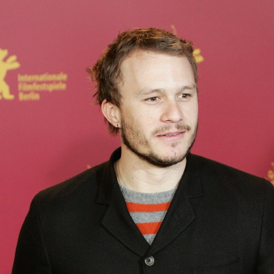 Heath Ledger was 28 years old when he died.