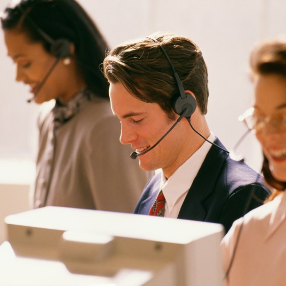 A pleasant workplace helps mortgage telemarketers sound natural on calls.