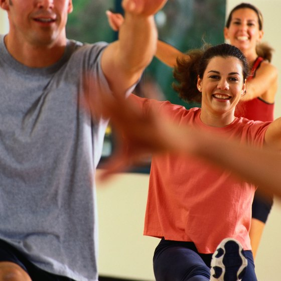 Aerobics classes can help you avoid dangerous excess fat.