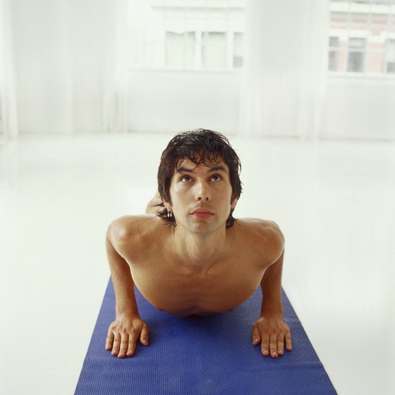 The extra heat in a Bikram Yoga class encourages weight loss.