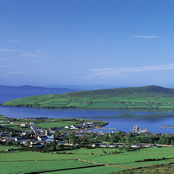 The Dingle Peninsula is a good destination for a day trip from Cork.