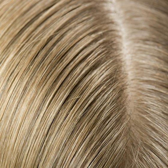 Close up of scalp.