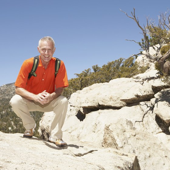 Be prepared to hike the San Jacinto Mountains.