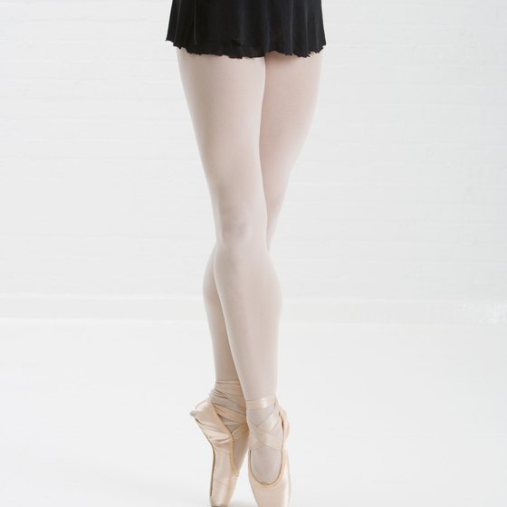 Achieve the subtle inner thighs of a ballerina with ballet exercises.