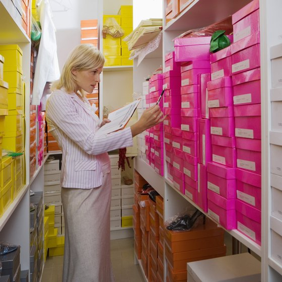 A properly managed stockroom helps employees efficiently serve customers.