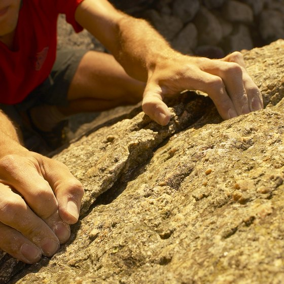 The flexors in the forearm should be thoroughly stretched after each climbing session.