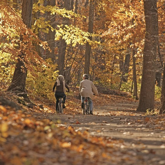 Many climates make the outdoors an option during the fall.