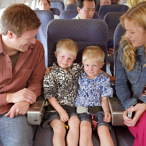 Traveling with kids 4 and under means priority boarding on Southwest.