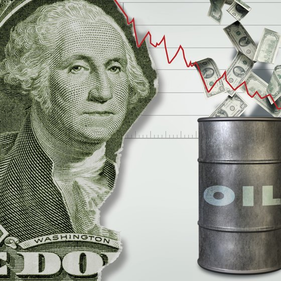 Oil speculators bet on the price of oil.