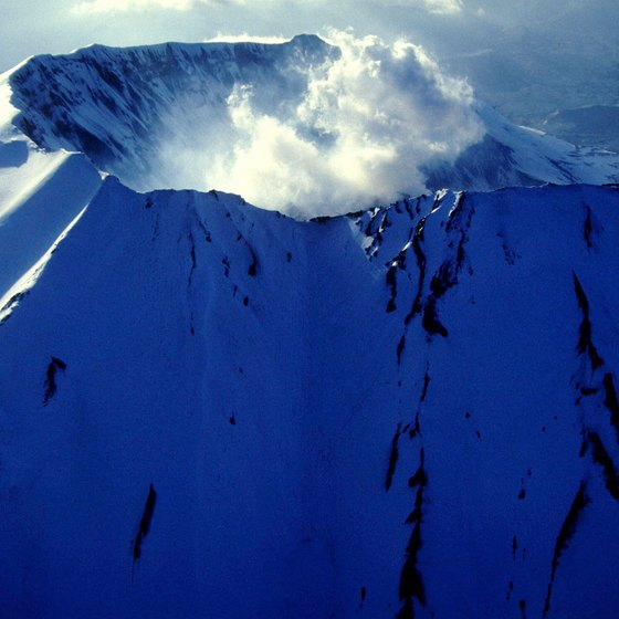 Mount St. Helens is one of the defining stratovolcanoes of Washington's Southern Cascades.