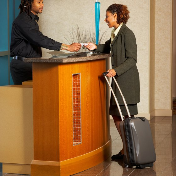 To avoid extra charges, don't be late checking out of your hotel.
