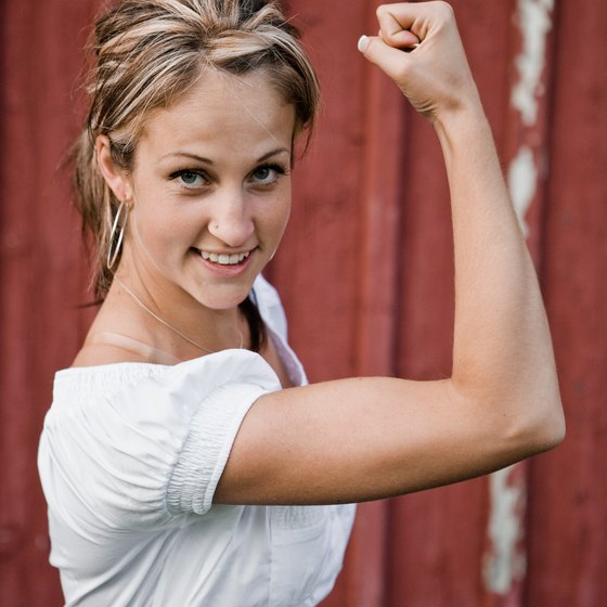 Strengthen your whole body for slim, toned arms.