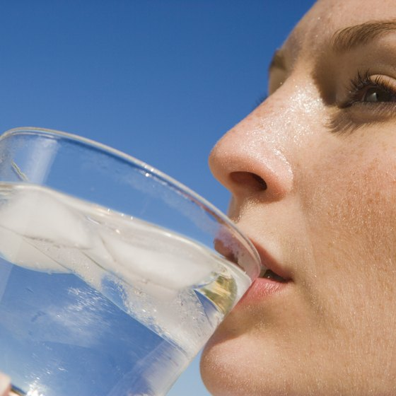 Regularly drink water to keep your mouth moist and prevent bad breath.
