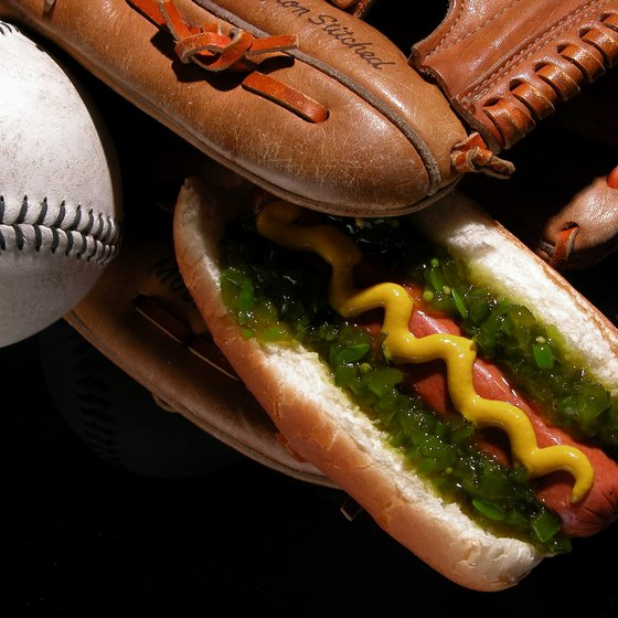 Nine percent of all the hot dogs consumed in the country are purchased at baseball venues.