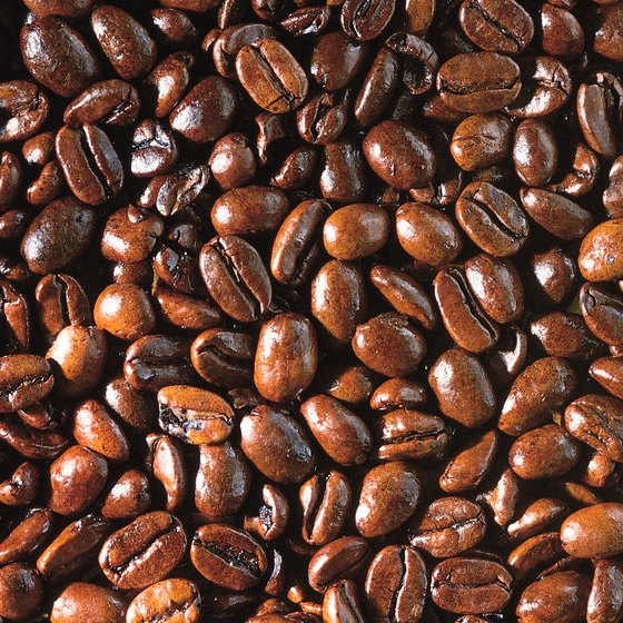 A single coffee tree produces approximately 2 lbs. of coffee yearly.