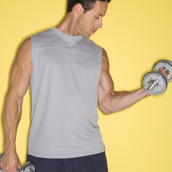 Dumbbells are effective workout tools.
