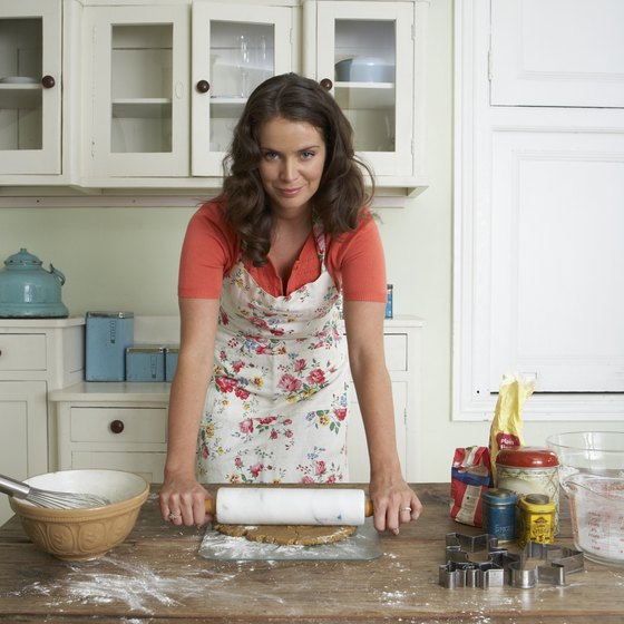 Recent laws permitting home baking businesses have increased cottage industries.