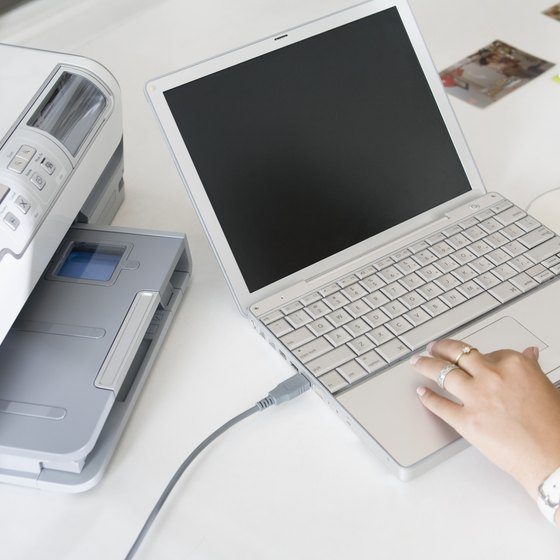 Businesses can connect multiple laptops to a wireless printer so long as the PCs share the same network.