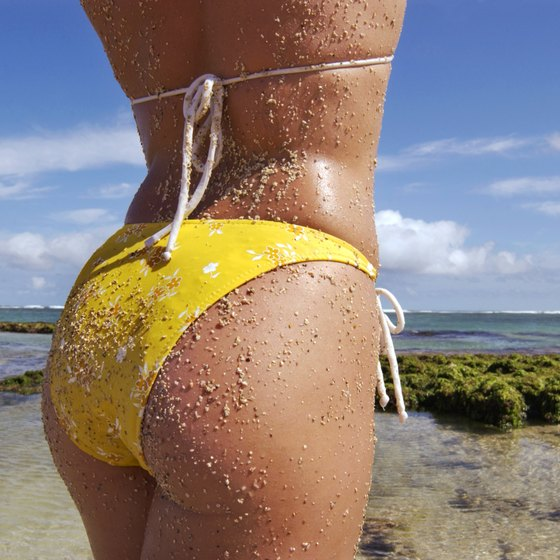 Glutes exercises will help you achieve a bigger, bikini-ready butt.