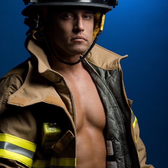 Firefighter uniform is gratuitous.
