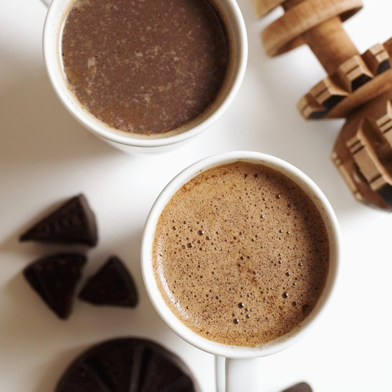 Cacao nibs can be used to make homemade hot chocolate.