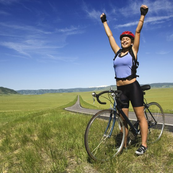 Your first 10-mile ride is very rewarding.