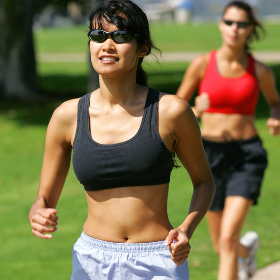You can run your way to a flatter stomach.