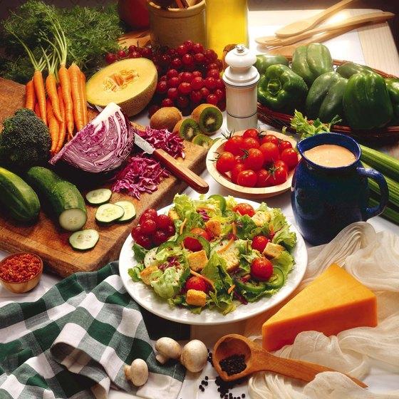 Vegetables make up the bulk of alkaline diets.