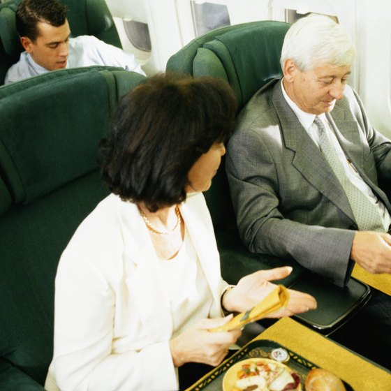 Airplane food is not known for being overly tasty.