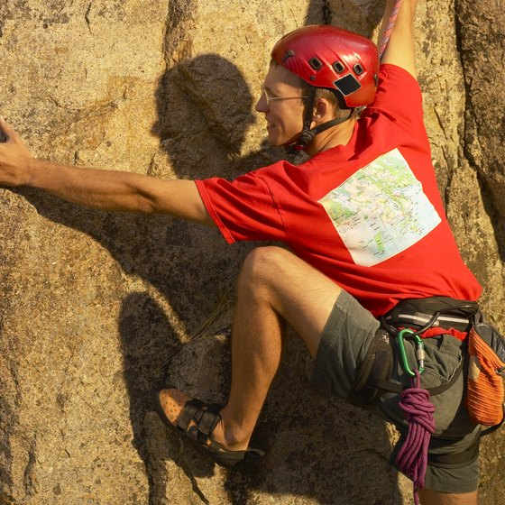 Extreme sports like rock climbing require a significant amount of grip strength.