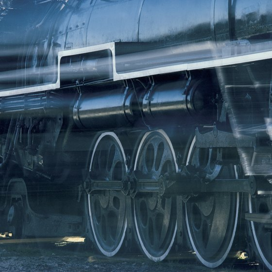 Ride the rails in Tennessee on a restored steam locomotive.