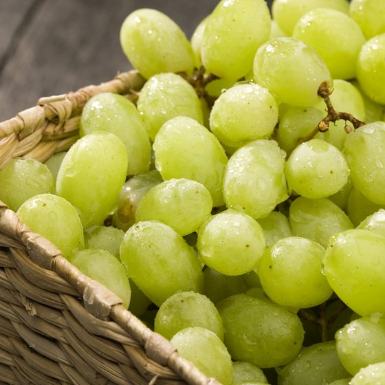 Balsamic vinegar is made from white grapes.