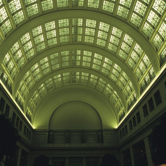 D.C.'s Union Station is a stop on several Amtrak routes.