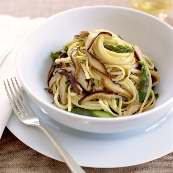 Most pastas are simple carbohydrates that give your body an immediate supply of glycogen.