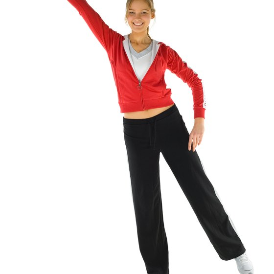 Use a low step to exert minimal effort during aerobics class.
