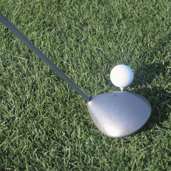 A neutral driver is perfectly square with the hosel of the club.