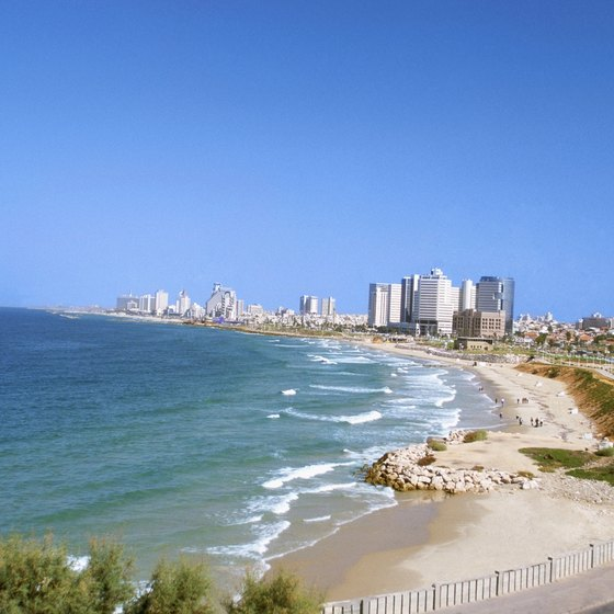 The Israel coast gets very hot by the end of May.