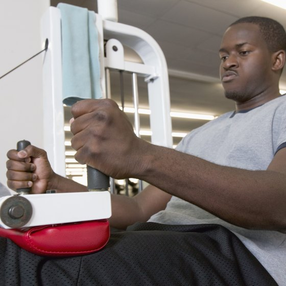 Weight machines limit range of motion but are ideal for beginners and those targeting isolated muscle groups.
