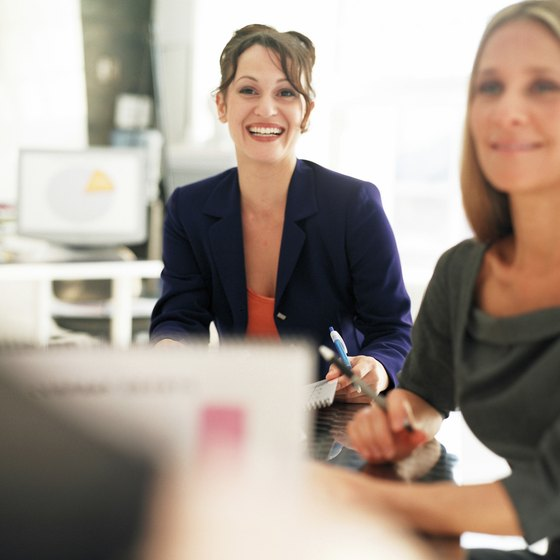 A pleasant working environment helps inspire front office employees.