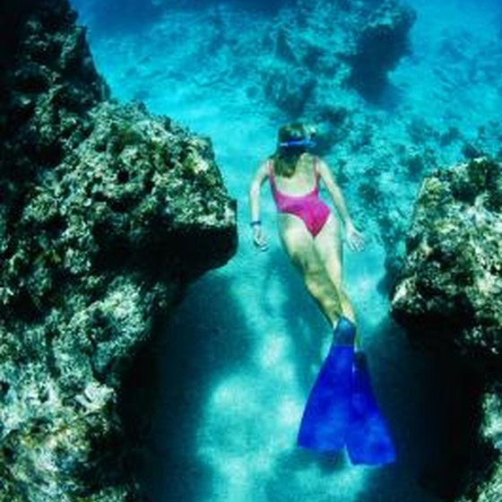 Best Places To Vacation In March In Teh Southern Us: Snorkeling In Kauai, Hawaii, In March