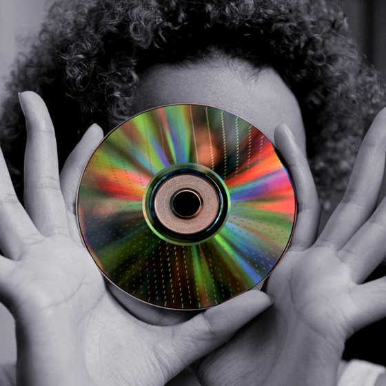 Use a DVD to share your interactive presentations with clients.