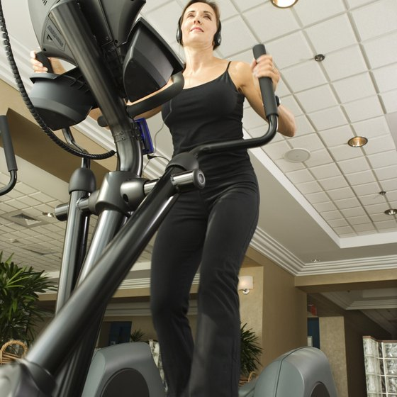 Use exercise machines that engage your thigh muscles.