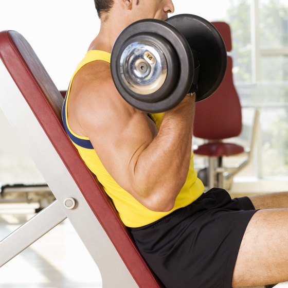 Iso-lateral incline dumbbell bench press primarily develops your upper chest.