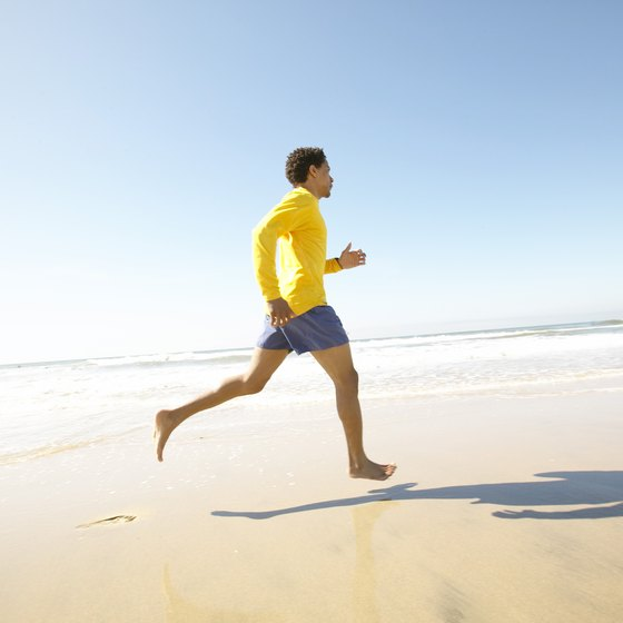 Take precautions during jogging to avoid long-term effects.