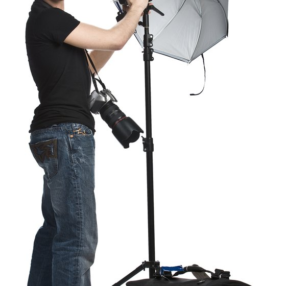 Add action shots of you and your assistants working during a shoot to liven up your website.