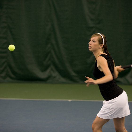 Use different tennis rallies to create calorie-burning workouts.