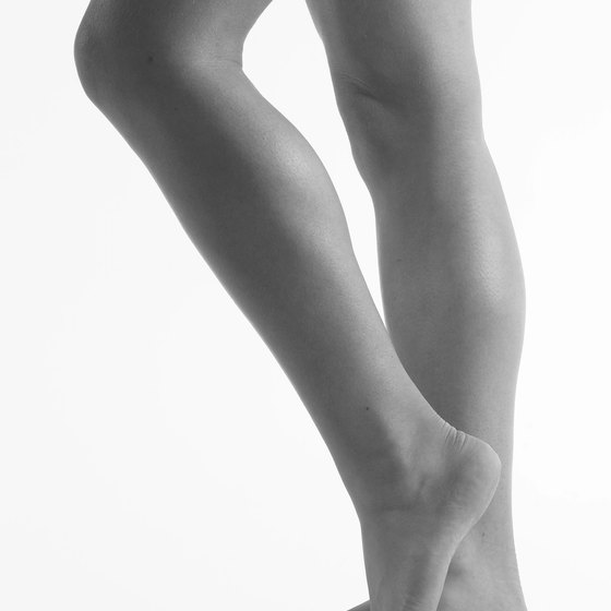 Calf and heel pain is often related due to connective musculature.